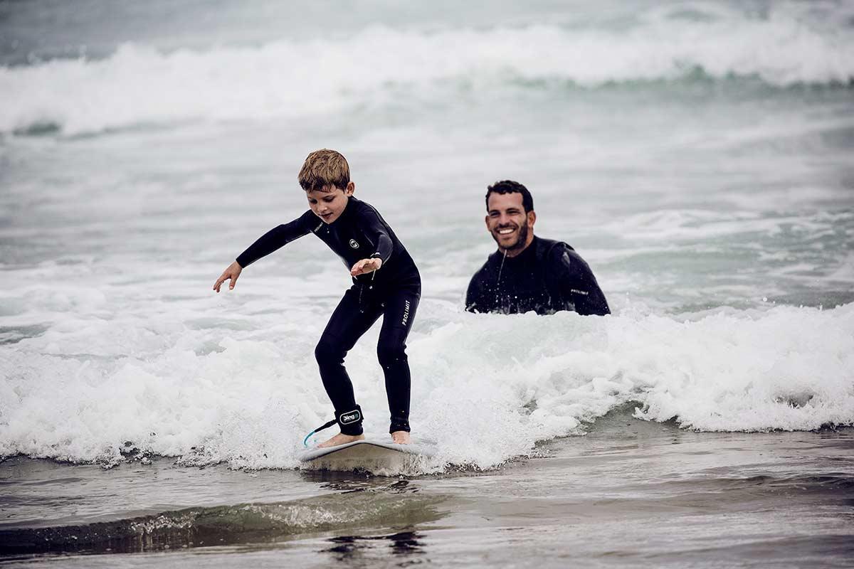 Portugal Surfen  für Kinder mit SaltyWay
