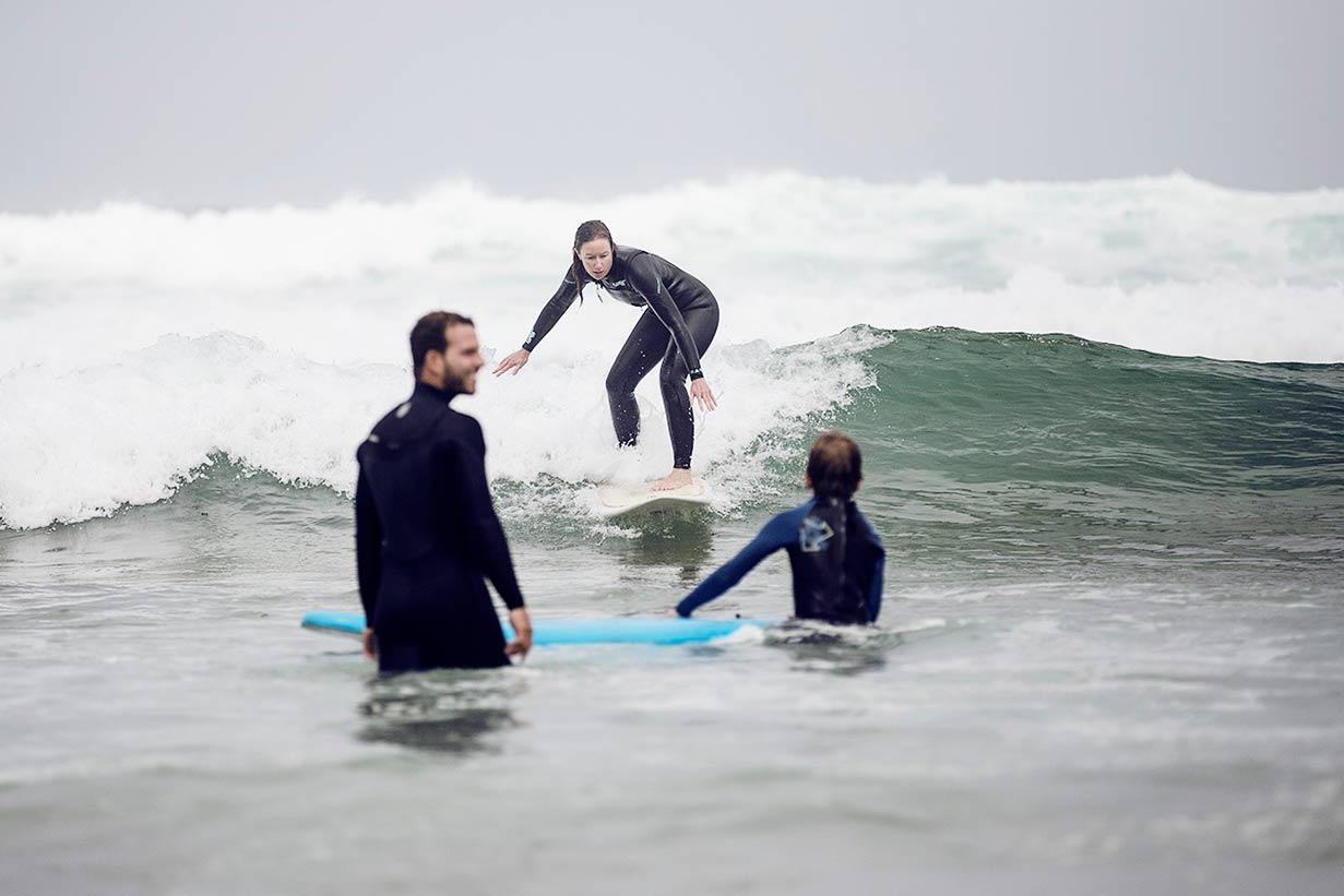 Surfen in Portugal für Familien mit Kindern