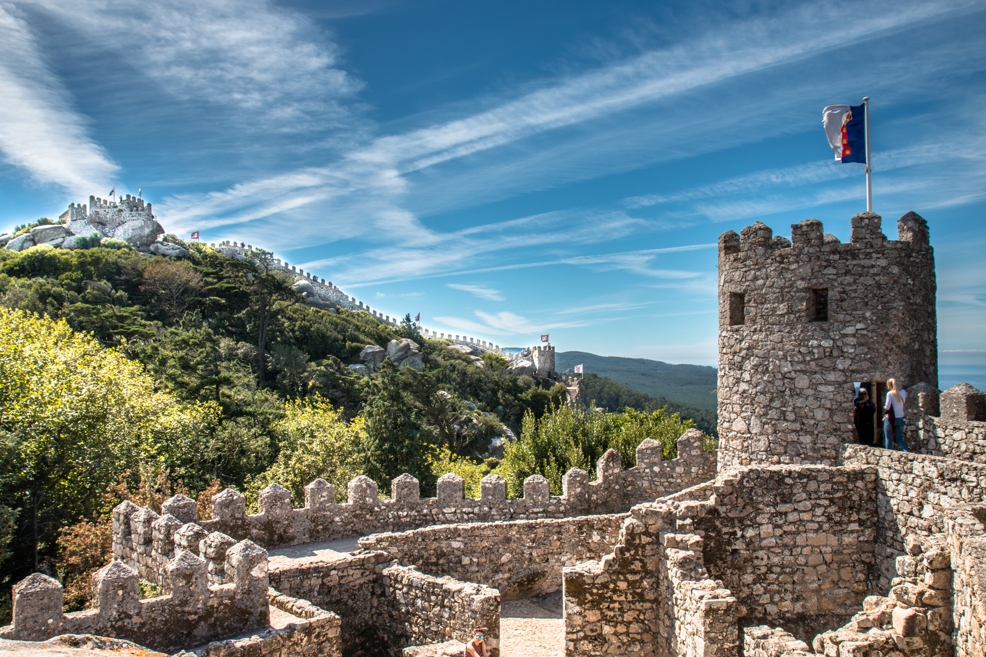 Sightseeing trip to Sintra during your stay at SaltyWay Surfcamp in Portugal