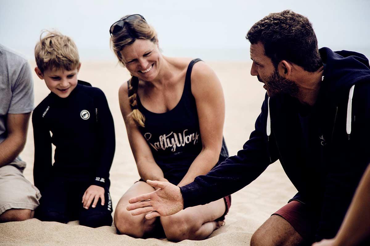Portugal Surfen mit Kindern