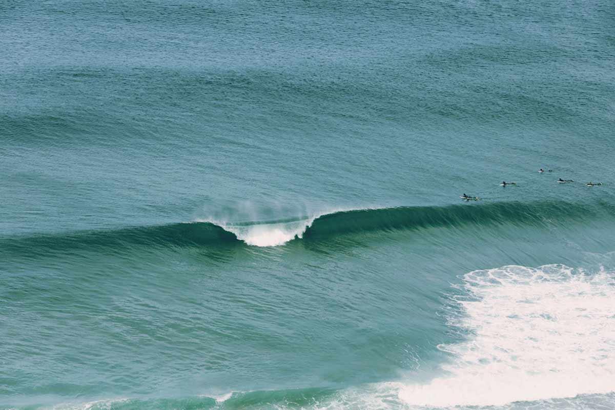 In Portugal surfen an den besten Surfspots