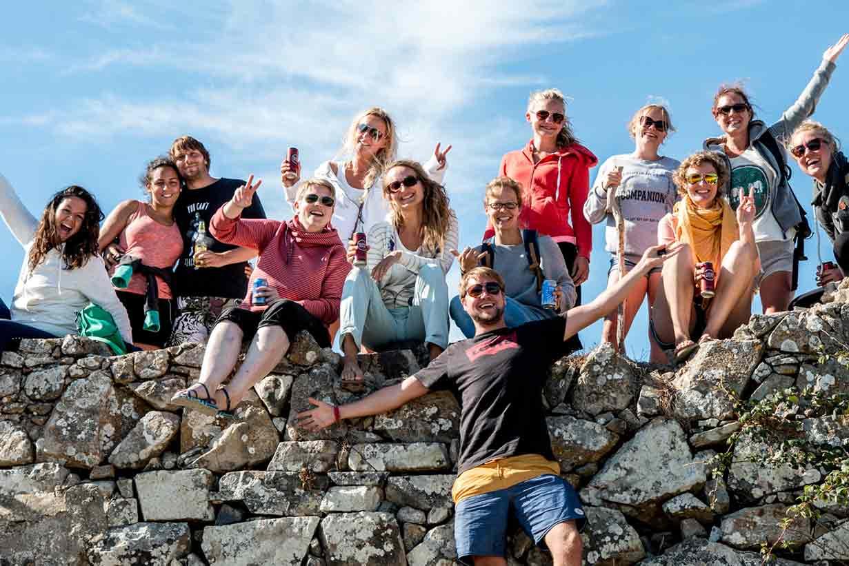 Surfen in Portugal mit Gleichgesinnten
