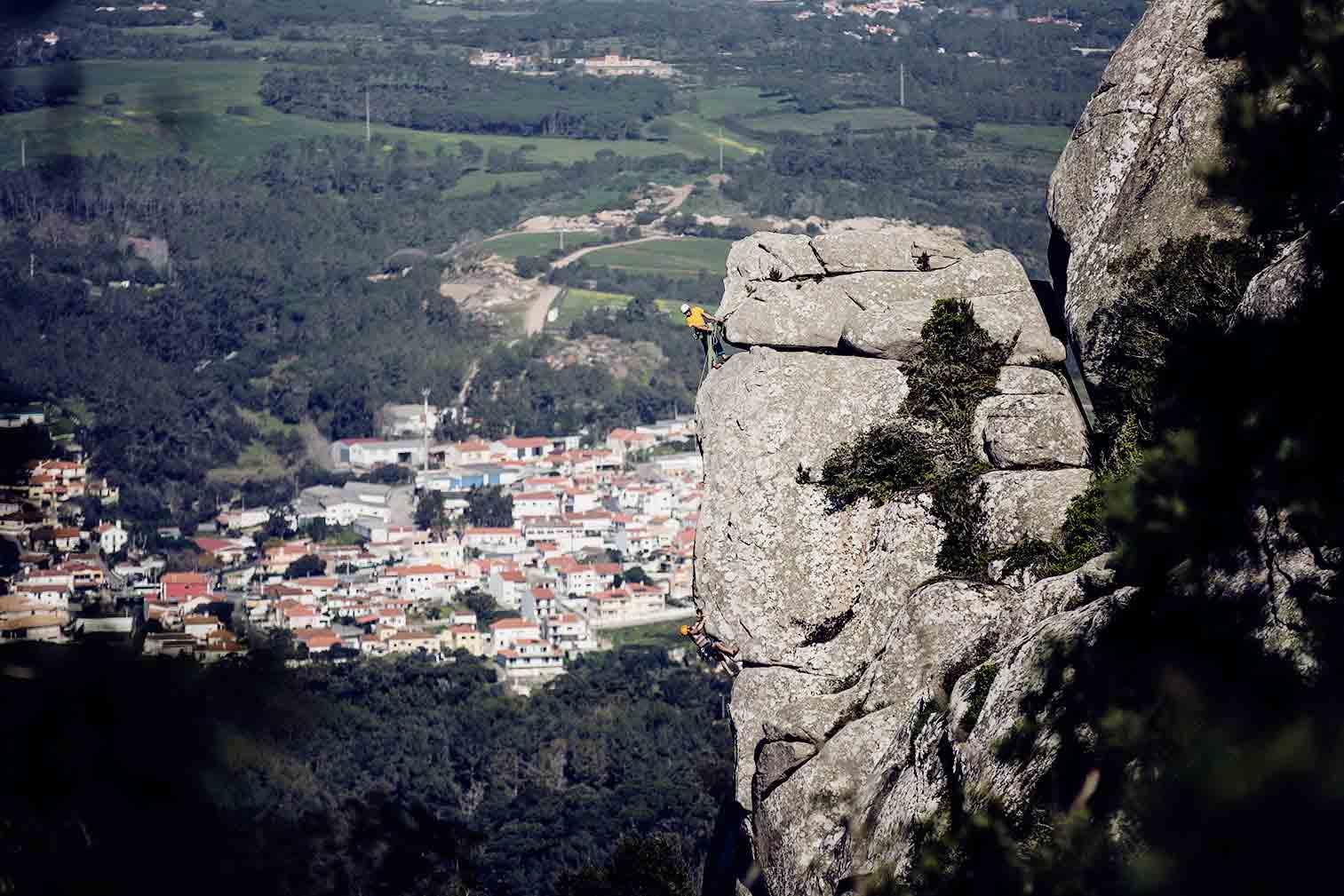 Kletterkurs im Klettercamp am Meer