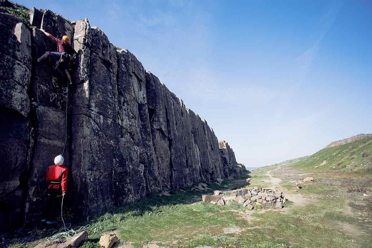 Kletterkurs an den besten Kletter-Spots in Portugal