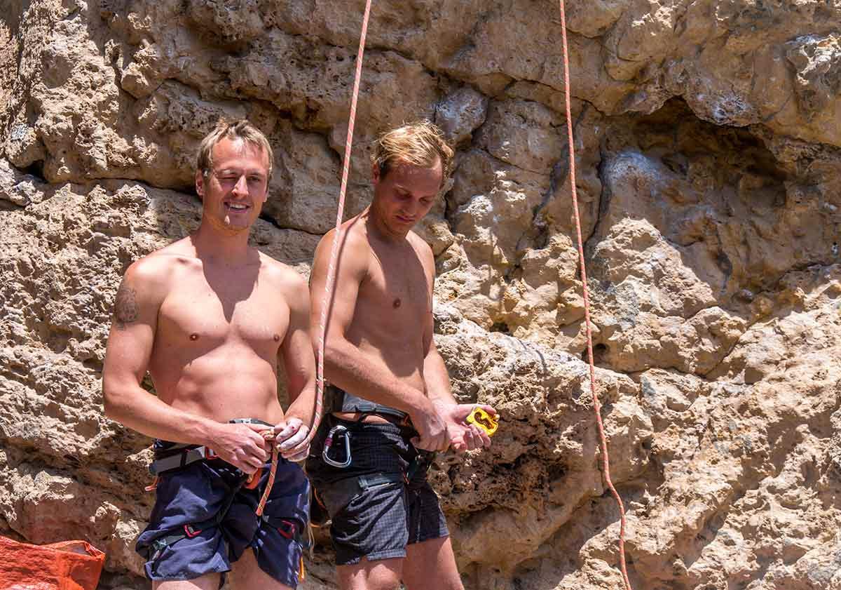 Kletterkurs für jedes Level in Portugal