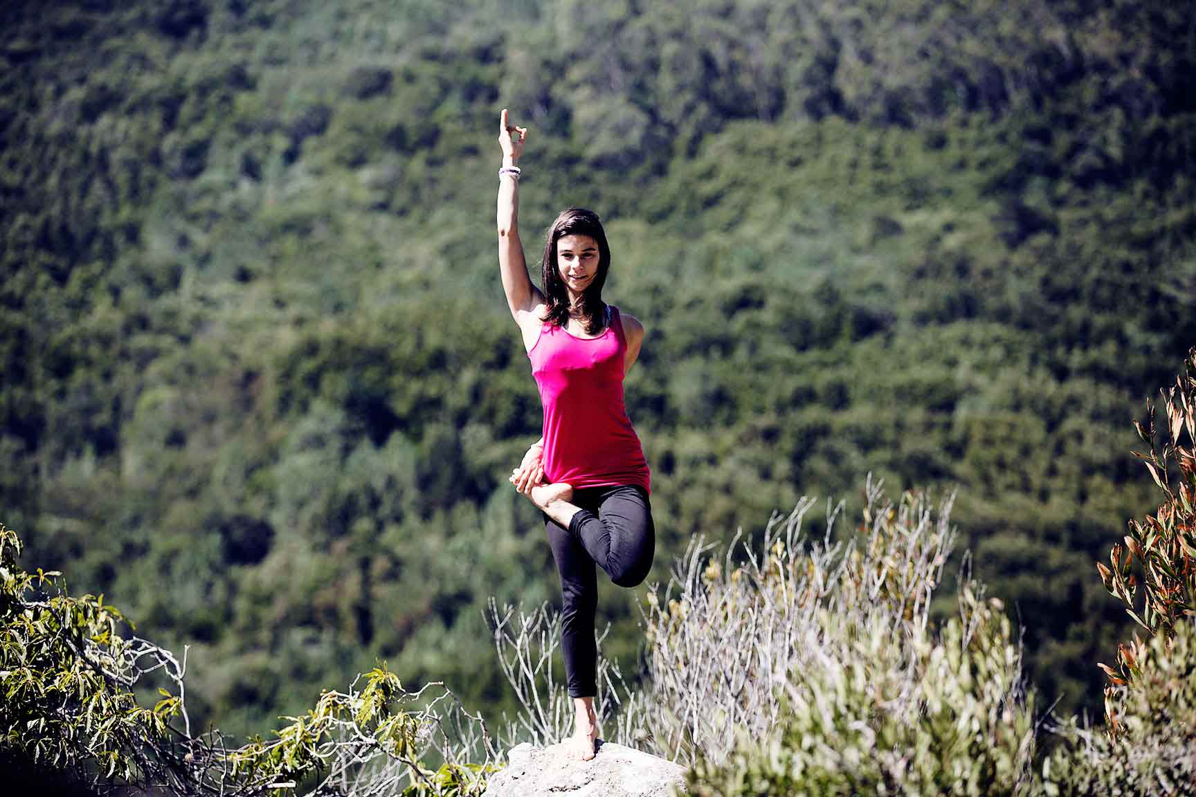Yoga and climbing courses in Portugal
