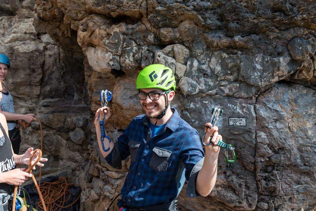 Kletterkurs in Portugal für Anfänger