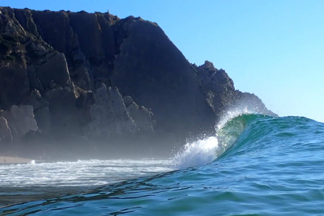 Welle Praia Grande